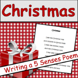 Christmas Poetry:  5 Senses Poem