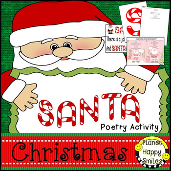 Christmas Activity ~ Poetry: S-A-N-T-A