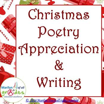 christmas poetry activities worksheets writing - Christmas Poetry