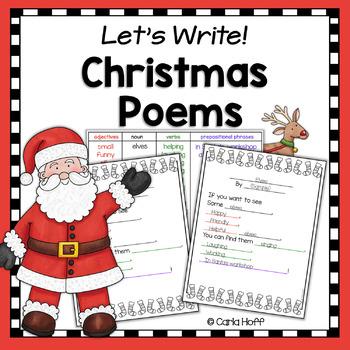 Child Christmas Poetry.Christmas Poetry Writing