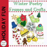 Christmas Winter Poetry Frames and Crafts
