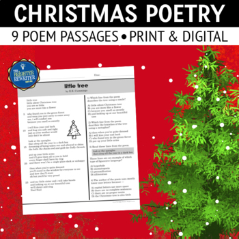 christmas poetry passages - Christmas Poetry