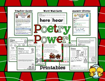 Poem of the Week: Christmas Poetry Power!