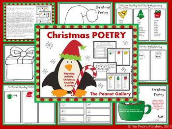 Christmas Poetry (Rhyming Activity & Writing Couplets)