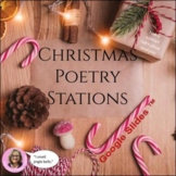 Christmas Poetry Stations : For High School and Middle Sch