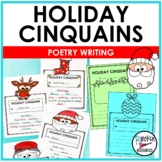 Christmas Poetry Writing- Cinquains