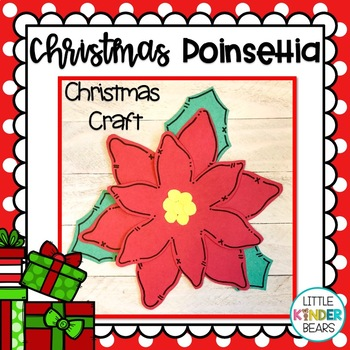 Christmas Poinsettia Craft