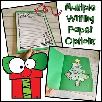 Christmas Point of View Activity and Writing