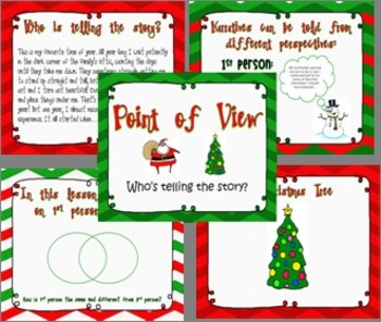Christmas Point of View Writing