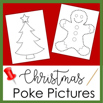Christmas Poke Picture Activity
