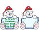 Christmas Polar Bear Alphabet Ring Book