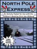 Christmas Reading Activities:North Pole Express Activities - Color Version