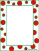 Christmas Polka Dot Borders
