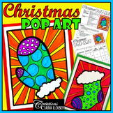 Christmas Pop Art