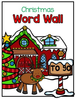 Christmas Portable Word Wall