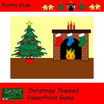 Christmas Power Point Game