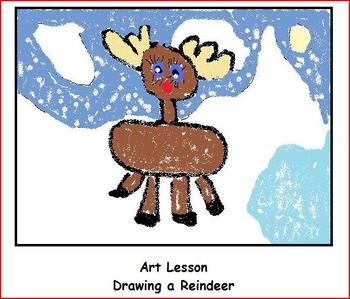 Christmas Power Point : Learn All About the Reindeer with Activities