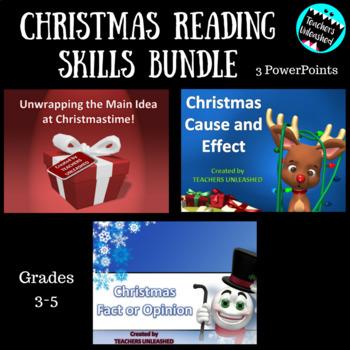 Reading Skills Bundle Christmas Edition