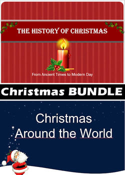 Christmas ppt BUNDLE #1 - History of Christmas (+) Around the World