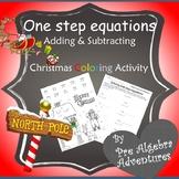 Pre Algebra Christmas Activity{Christmas Pre Algebra}{Algebra Christmas Activity