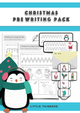 Christmas Pre Writing Activity Pack