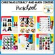 Christmas PreK Math and Literacy Centers and Fine Motor Activities Age 3+
