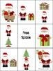 Christmas Preposition Bingo