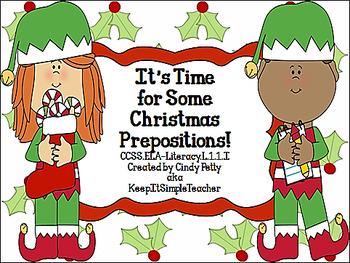 Christmas Prepositions