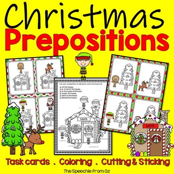 Christmas Preposition Activities