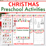 Christmas Preschool Bundle