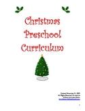 Christmas Preschool / Kindergarten Curriculum