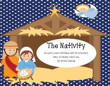 Christmas Preschool/ Kindergarten/ Homeschool Unit on the