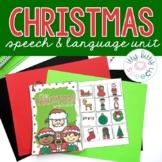 Christmas Preschool Language Unit (+BOOM Cards)