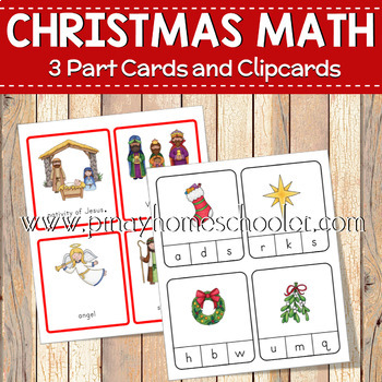 Christmas Preschool Literacy Learning Activities