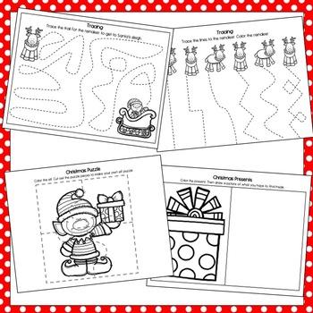 Christmas Preschool MEGA Packet