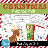 Christmas Preschool Pack- 44 PAGES!