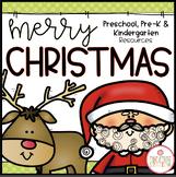 CHRISTMAS THEME ACTIVITIES FOR PRESCHOOL, PREK AND KINDERGARTEN