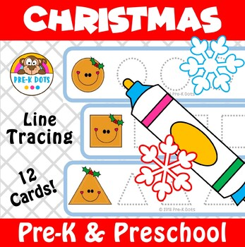 Christmas Preschool Tracing