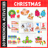 Christmas Preschool Unit - Math and Literacy Centers