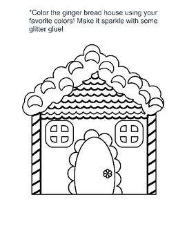 Christmas Preschool Workbook