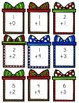 Christmas Present Addition - Single Digit Addition