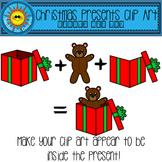 Christmas Present Clip Art - Inside the Box