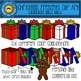 Christmas Present Clip Art - Inside the Box