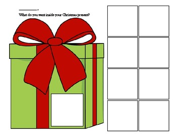 Christmas Present Communication Board for Autism