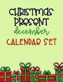 Christmas Present December Calendar Set