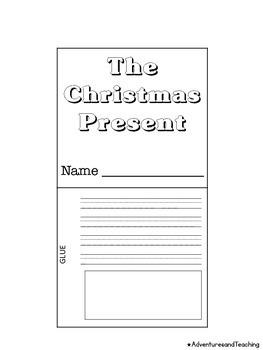 Christmas Present Flipbook Craftivity