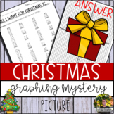 Christmas Present Graphing Mystery Picture (Coordinate Gri