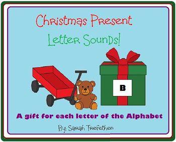 Christmas Center - Letter Sounds