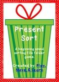 Christmas Present Sort - Beginning /b/ and /t/ sort
