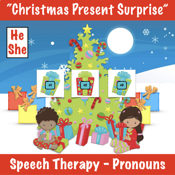 Christmas Present Surprise - Pronouns
